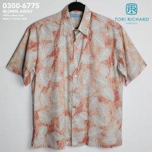 他の写真1: アロハシャツ|トリリチャード(TORI RICHARD)|tori-6775 BLOWN AWAY(ブローン・アウェイ)|コーラル|メンズ|コットン・ローン100%(Cotton Lawn 100%)|ノーマル襟(レギュラーカラー)|フルオープン|半袖